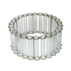 NEW! Circular Test Tube Table Vase