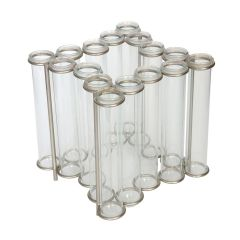 Star Shaped Test Tube Table Vase