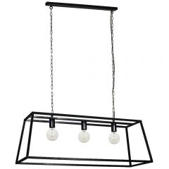 Vienna Triple Trapeze Chandelier Frame - Pre-order - Due Mid July