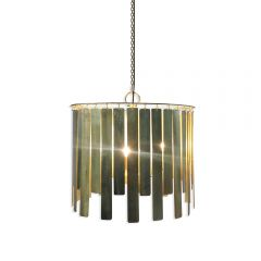 NEW! Solaris Chandelier - Gold Finish