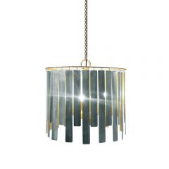 NEW! Solaris Chandelier - Antique Silver Finish
