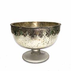 Medium Antique Silver Cassius Bowl
