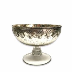 Small Antique Silver Cassius Bowl