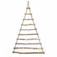 NEW! Birch Branch Christmas Tree With Rope For Display