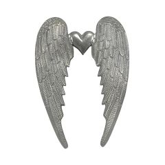 Small Heart Angel Wing Wall Hanging