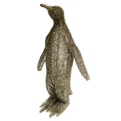 NEW! Medium LED Wire Standing Penguin