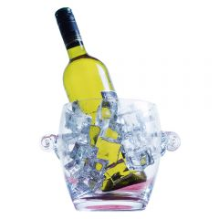 Glass Ice Bucket - 16cm