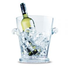 Glass Ice Bucket - 20.5cm