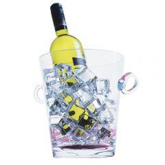 Glass Ice Bucket - 18cm