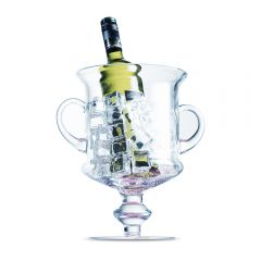 Glass Ice Bucket - 19cm