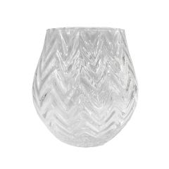 Glass Vase - 22cm