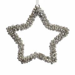 Large Jingle Beads Star Decoration