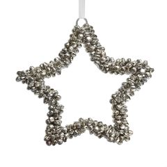 Small Jingle Beads Star Decoration