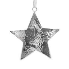 Small Hammered Star Hanging Decoration