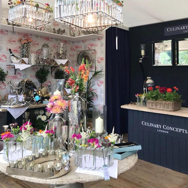 Culinary at Chelsea Flower Show 2019